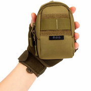 Men Women Tactical Small Nylon Phone Hiking Climbing Outdoor Waist Bag