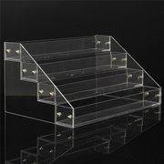 4 Tiers 32 Bottles Clear Acrylic Detachable Nail Polish Organizer Display Makeup Stand Rack