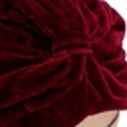 Индийский стиль Тюрбан Bonnet Cap мягкий бархат Голова Hat Wrap Волосы Band Обложка Headban