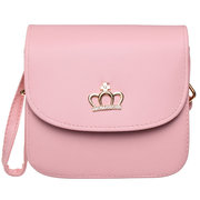 Women Candy Color Mini Leather Crossbody Bag