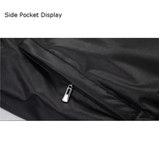 Sport Casual Embroidery Wind-Resistant Waterproof Baseball Jacket Stand Collar Coat For Men
