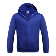 Mens Winter Villus Hoodies Thick Warm Solid Color Hooded Zipper Tops