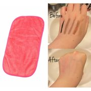 Soft Microfiber Makeup Remover Towel Washcloth Professional Easy Cleaning Tool