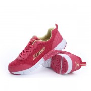 DELOCRD Mesh Lace Up Casual Running Sneaker Tennis Shoes