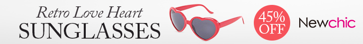 Heart Shape Anti-UVA And UVB Sunglasses sku035929
