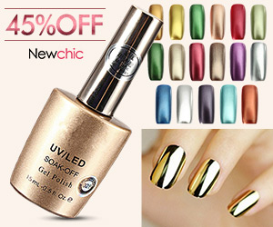 18 Colors Metallic Soak Off Metal Nail UV Gel Polish SKU171194