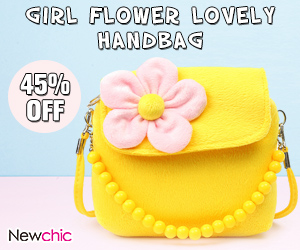 Girls Flower Princess Shoulder Bags