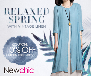 10% Off coupon relaxed spring with vintage linen