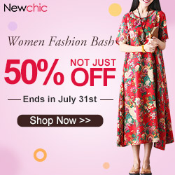 Newchic 3rd Anniversary activity for women