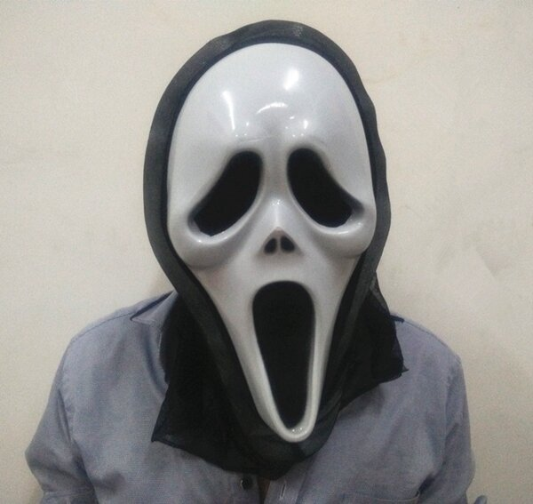 halloween scary mask party props face mask hiphop ghost dance skull mask