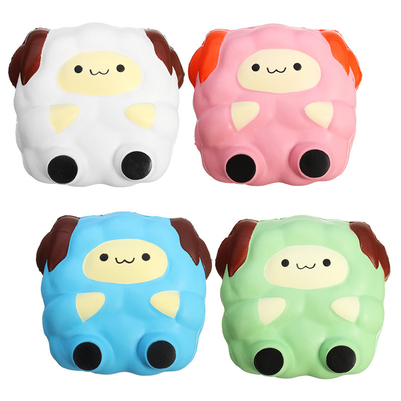 Squishy Collection Squishy : Squishy Jumbo Sheep Lamb 12cm Sweet Soft Slow Rising Collection Gift Decor Toy - NewChic