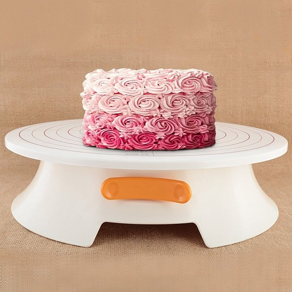 DIY Cake Decorating Tools Rotating Cake Stand Turntable Stand