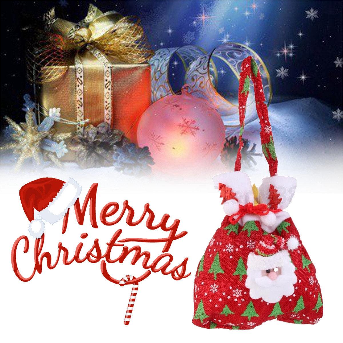 Weihnachten Applique Süßigkeiten Geschenk wiederverwendbare ...