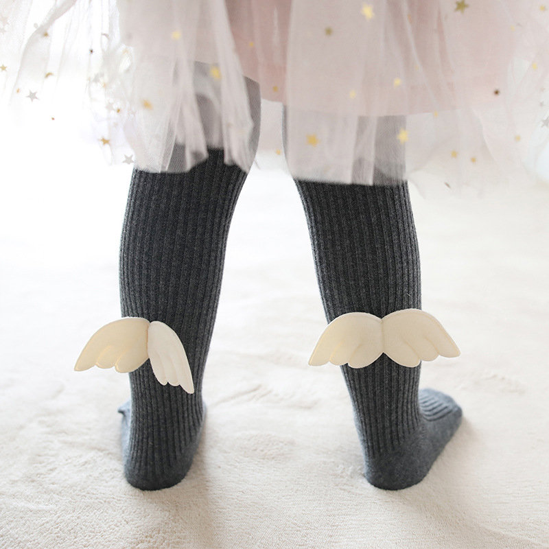 Angel Wings Girls Soft Leggings