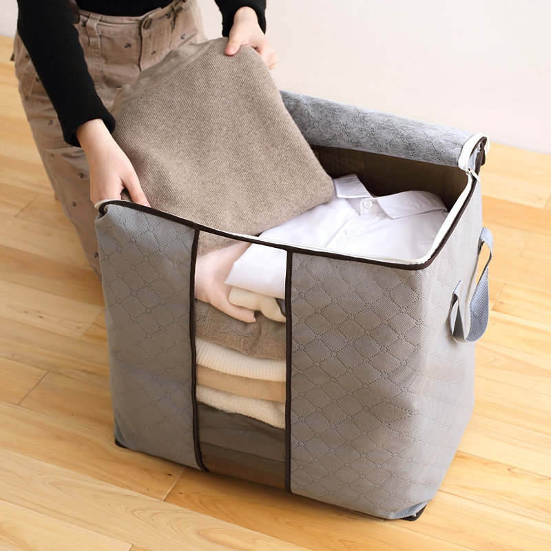 Favorable High Capacity Clothes Quilts Storage Bags Folding