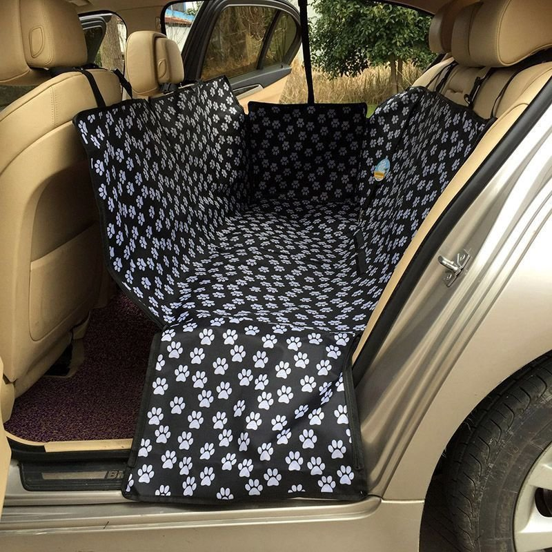 130 150 55cm pet car seat cover dog safety mat cushion rear back seat protector hammock is worth. Black Bedroom Furniture Sets. Home Design Ideas