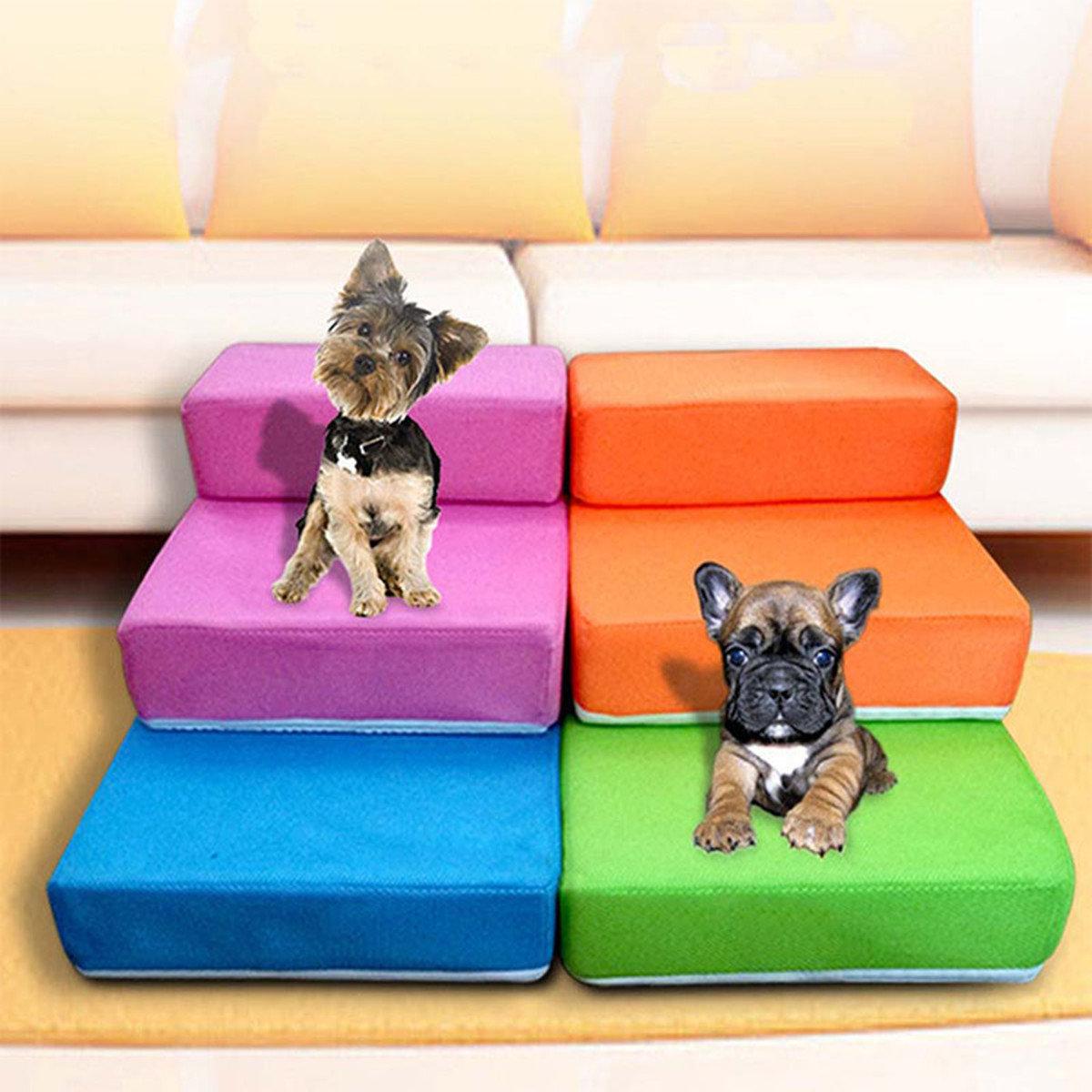 Escaleras para mascotas escalera de gato para perros pu - Escaleras para perros ...