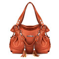 Elegant Women Tassel Pendant Handbag Ladies Casual Shopping Shoulder Bag