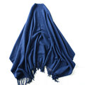 Solid Color Wool Scarf For Women