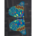 Women Vintage Butterfly Fabric Printed Cover Up Shawl Beachwear