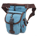 Men Women Casual Canvas Outdoor Sports Hiking Waist Bag Camera Bag