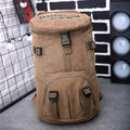 Men Women Canvas Large Capacity Sports Travel Backpack School  Climbing Shoulder Bags