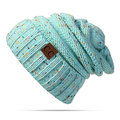 Winter Thicken Knitted Mix Color Beanies Hat