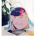 Women Girl Cute Bags Heart Casual School Bags Shoulder Bags Backpack
