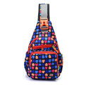 Women Nylon Chest Bag Multi-color Crossbody Bag Shoulder Bag