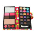 Eye Shadow Palette Makeup Set Shimmer Eyeshadow Lip Jelly Brow Power Foundation Blushes