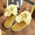 Big Size Suede Casual Fur Lining Warm Ankle Multi-Way Boots