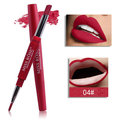 MISS ROSE Double-end Lipstick Pencil Lip Liner 8 Colors Lasting
