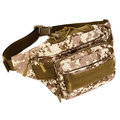 Tactical Outdoor Riding Nylon Waist Bag Leisure Travel Running Capacity Man Bag