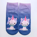 Women Cute Cotton Animals Short Socks Soft Casual Comfortable Socks