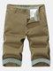 Summer Men's Casual Fifth Shorts Army Cargo Short Pants Multi-pocket Capris Cotton Short Pants
