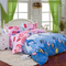 3 Or 4pcs Cotton Blend Mix Patterns Paint Printing Bedding Sets Single Twin Queen Size