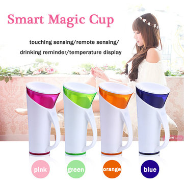 Smart Cup Mug Magical Water Drinking Reminder Cup Remote Sensing Water Bottle Cup