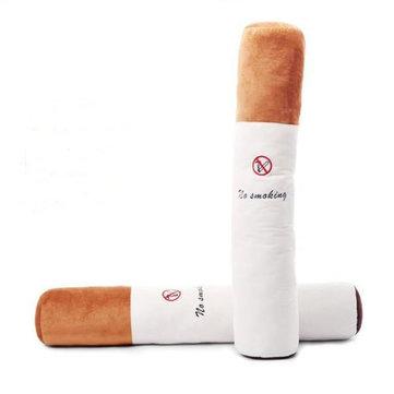 Cigarro de peluches de 80CM Travesseiro para não fumadores Presentes criativos do festival Artigos de decoração para casa