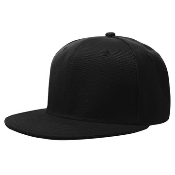 Buy 60cm Men Women Plain Fitted Cap Solid Flat Blank Color Baseball Hat