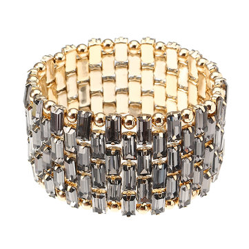 JASSY® Luxury Gold Crystal Bracelet