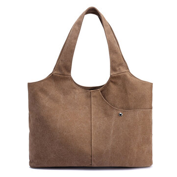 Women Canvas Casual Large Capacity Handbag