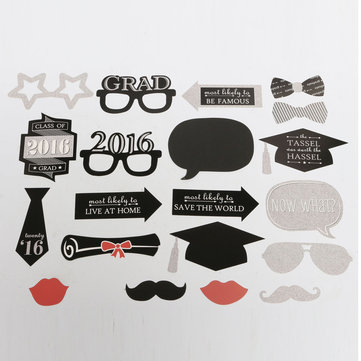 Buy 2Photo Mustache Stick Booth Prop Commencement Party Mask Props Wedding Decoration