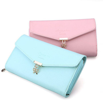 Women Hasp Long Wallet  Purse Casual Phone Clutch Bags for Iphone6S/6SP/7