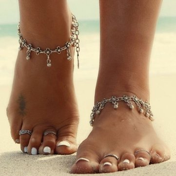 for stone shop studded and indian in popular fashion white women utsav anklet anklets jewelry golden online