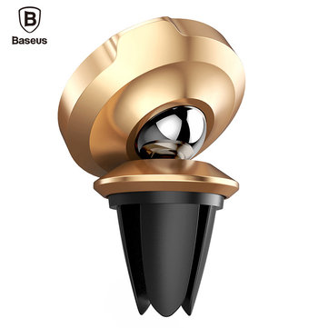 Baseus Car Phone Holder For iPhone 7 Samsung 360 Degree Magnetic Air Vent Mount Car Holder Stand