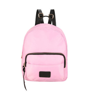 Women Nylon Little Backpacks Shoulder Bag Casual Solid Schoolbag