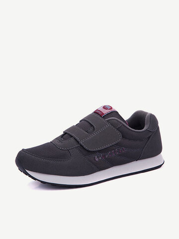 Big Size Mesh Breathable Hook Loop Casual Sport Outdoor Shoes For Women