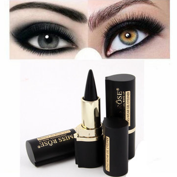 MISS ROSE 1Pc Black Waterproof Eyeliner