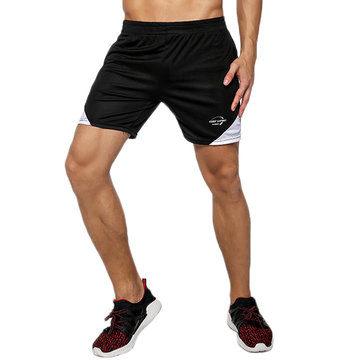 Mens Summer Gym Breathable Joggers Fitness Running Casual Sport Shorts