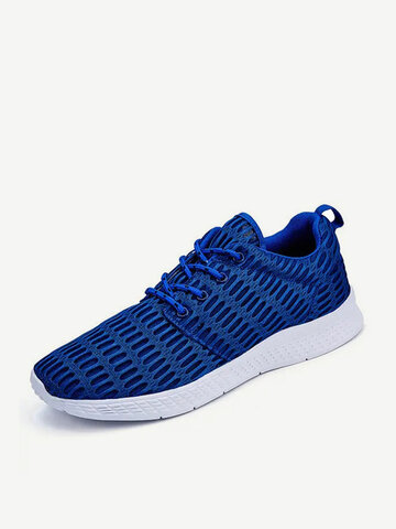 Large Size Breathable Mesh Sport Trainers For Women